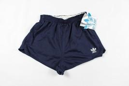 Vintage 80s Adidas Hommes Grand Trèfle Sort Sortie Run DMC Coton Mélange Short - $36.99