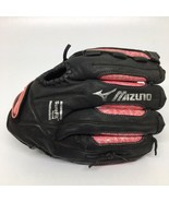 Mizuno Finch Black/Pink Leather Ladies Softball Baseball Glove GPL1211 L... - $26.65