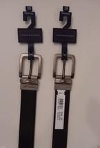 Tommy Hilfiger Reversible Leather Belt Black Brown 32 34 36 38 40 44 46 48 50 54 - $31.69