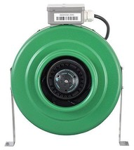 Active Air 400 CFM Inline Fan 6-Inch Environmental Controls Hydroponics ... - $121.96