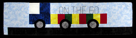 "Row by Row 2017 ""On the Go"" Semi Truck Trailer Quilting Pattern M401.13 W - $3.00"