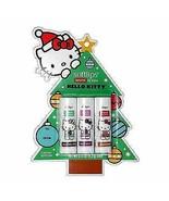 Softlips Limited Edition Hello Kitty Holiday Natural Lip Balm - Variety ... - $11.99
