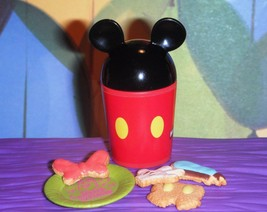 Rement Mickey Mouse & Friends Cookies Food Lot Fits Fisher Price Dollhou... - $17.99