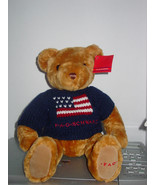 """FAO Schwartz 15"""" Fully Jointed Soft Teddy Bear with Sweater - $9.99"""
