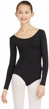 Capezio Women's Long Sleeve Leotard Color: Black Size: XL - $16.82