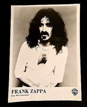 1976 FRANK ZAPPA RARE GERMAN ZOOT ALLURES PROMO PHOTO WARNER BROS BEEFHE... - $40.00