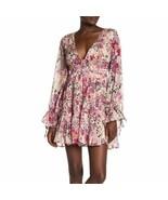 Women's Cream Free People Ivory Closer to the Heart Mini Dress sz L - $86.11