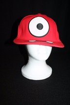 Yo Gabba Gabba - Muno Dr Love Flatbill Snap Back Adult Youth Red Cap - $19.95