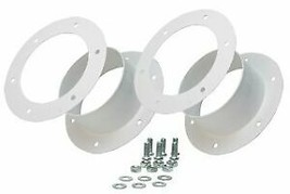 Active Air Double 6 Inch Flange Kit Duct Your Grow Tent From A Window - $36.28