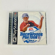 Tiger Woods PGA Tour 2001 Sony PlayStation 1 2000 COMPLETE - $7.99