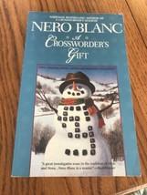 A Crossworder'S Cadeau Nero Blanc Livre de Poche Ships N 24h - $26.86