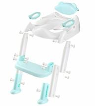 711TEK Potty Training Seat Toddler Toilet Seat with Anti-Slip Pads (Blue) image 2