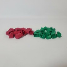 Monopoly Mega Edition 32 House and 12 Hotels Only Replacement Pieces - $14.03