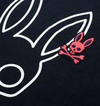 Men's Psycho Bunny Long Sleeve Shirt Parkhouse Graphic Tee Logo Navy Shirt image 3