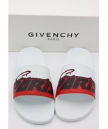 NIB GIVENCHY Paris Mens Printed Motocross Pool Slide Sandals New 14 47  ... - $195.00