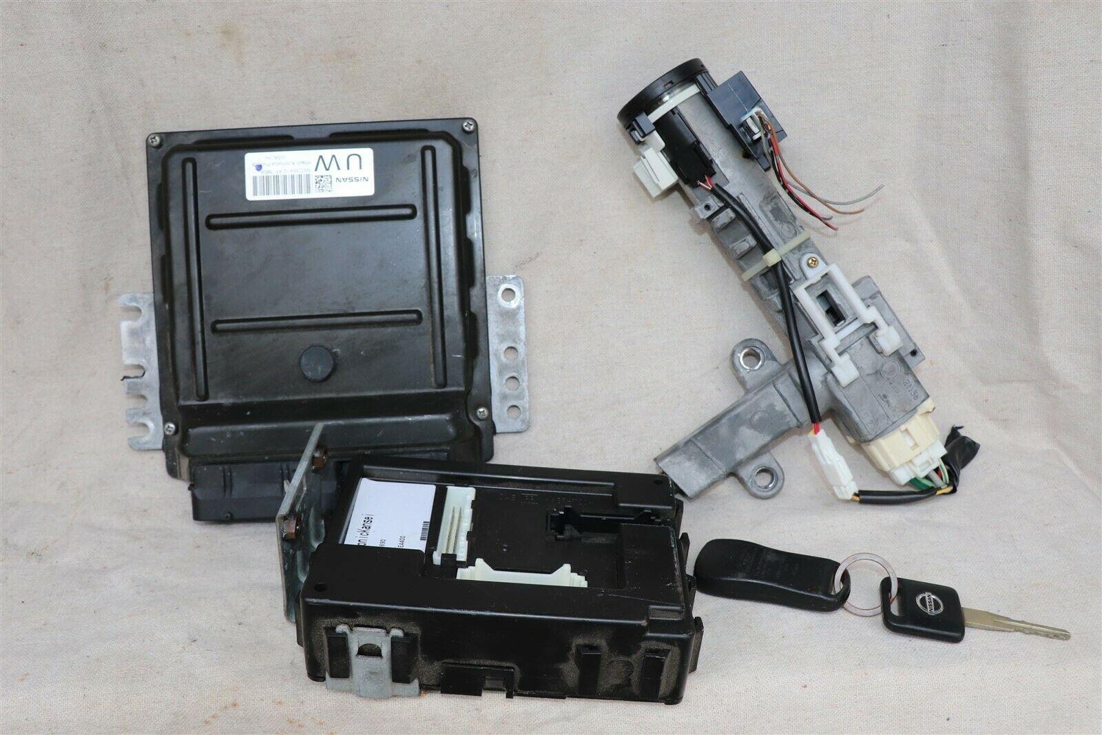 2005 Nissan Xterra 4x2 ECU ECM Computer BCM Ignition Switch W/ Key MEC35-612-A1