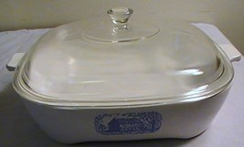 Vintage Corning Amana Radarange Browning Skillet with Lid - $37.57