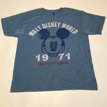 Walt Disney World 1971 Always Original Mickey Mouse T Shirt Hanes Men's ... - $4.70