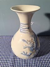 Lladro 01004690.3 Dragon Vase Blue New Retired - $295.02