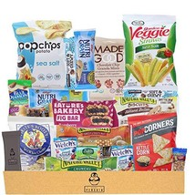 Healthy Snacks Care Package 20 Count Variety Snack Pack Assortment of Nuts, Bars