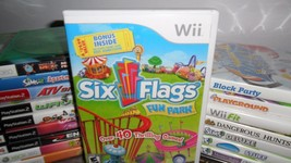 Six Flags Fun Park (Nintendo Wii, 2009) - $7.99