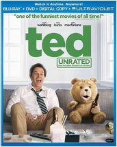 Ted (Blu-ray Disc, 2012, 2-Disc Set, Unrated Includes Digital Copy Ultra... - €7,10 EUR