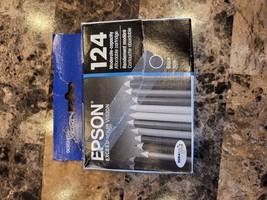 Epson 124 Single Ink Cartridge - Black (T124120-CP) - $15.25