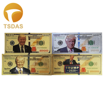 4pcs/set US President Donald Trump New Colorized $100- 1 Million Dollar ... - $8.10