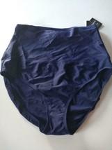 Island Escape Navy Swimwear Shorts Size 12 image 1