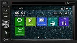 DVD CD GPS Navigation Multimedia Radio and Dash Kit for Honda Element 2003 image 4
