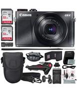 Canon PowerShot G9 X Mark II Digital Camera (Silver) W/Total of 64GB SD ... - £563.84 GBP