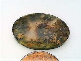 Plume Agate Gemstone Cabochon 213 - $7.90