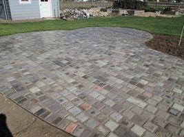 """Concrete Paver Molds (10) Make 6""""x12""""x1.5"""" Cobblestones, Pavers For Pennies Each image 9"""