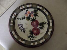 Oneida Strawberry Plaid salad  plate 4 available - $3.91