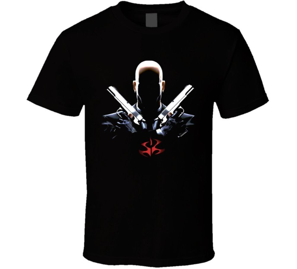 Primary image for Hitman Assassin Video Game Classic T Shirt