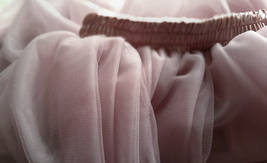 DUSTY PINK High Waisted Long Tutu Skirts Full Length Bridesmaid Tulle Skirts NWT image 8