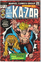Astonishing Tales Comic Book #16 Marvel Comics1973 VERY FINE- - $4.99