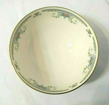 """Royal Doulton JULIET Bowl Floral Gold Trim 5.5"""" Footed All Purpose / Cereal - $35.10"""