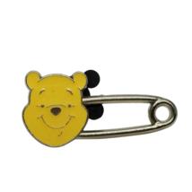 Disney Pins 2015 Winnie the Pooh Safety Pin Hong Kong Disneyland - $7.66