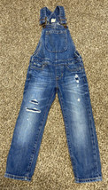 Gap Kids Skinny Jean Overalls XS - $9.56