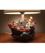 Lamp Noah's Ark Decorative Accent IOB multi-color children's room - $15.47