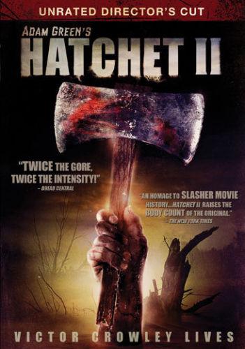 Hatchet II (DVD, 2010 New) Horror