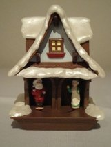 Hallmark Keepsake Light in Motion Ornament 1988 - Last Minute Hug - $54.01