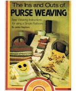 The Ins and Outs of Purse Weaving Craft Pattern Book - $4.99