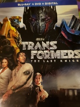 transformers the last knight bluray - $5.00