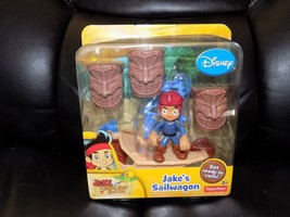 Fisher-Price Disney's Jake and The Never Land Pirates: Jake's Sailwagon NEW - $17.60