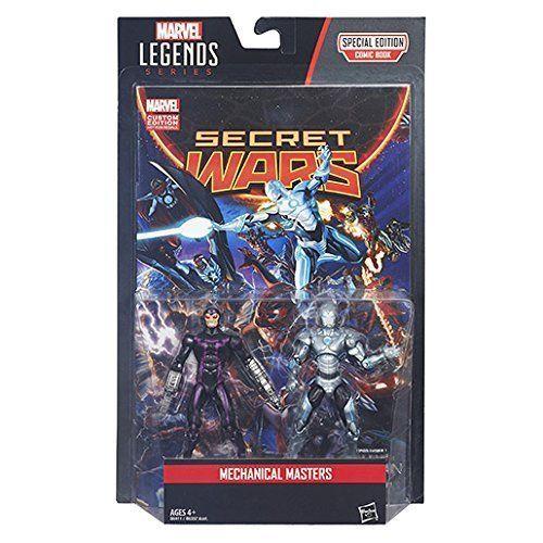 Marvel Legends Comic Series Figure 2 Pack - Mechanical Masters image 3