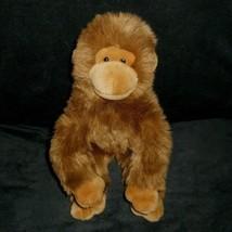 Ty 2004 Classico Beanie Buddies Topanga Marrone Scimmia Peluche Peluche - $17.59