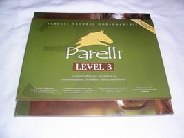 Parelli Pathways Level 3 NATURAL HORSE TRAINING (3 DVD) MSRP - $199 NEW ... - $159.88