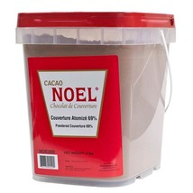 Noel Atomized Couverture Chocolate - 69% - 2 pails - 8 lbs ea - $291.46